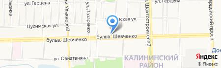 iBox на карте Донецка