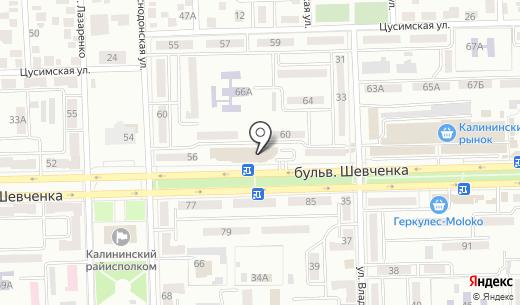 iBox. Схема проезда в Донецке
