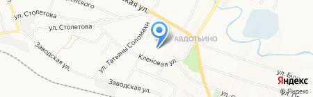 Донецкая общеобразовательная школа I-III ступеней №40 на карте Донецка