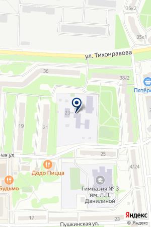 ДЕТСКИЙ САД № 1 на карте Юбилейного