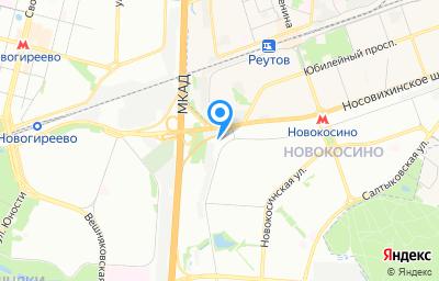 Местоположение на карте пункта техосмотра по адресу г Москва, ул Суздальская, д 9