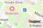 Схема проезда до компании Borodach в Пушкино