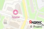 Схема проезда до компании Золотые крылья в Пушкино