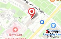 Схема проезда до компании Руссфрукт в Москве