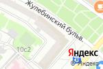Схема проезда до компании Nargilia Loft в Москве