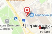 Схема проезда до компании Лабиринт.ру в Дзержинском