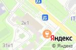 Схема проезда до компании Киберплат в Москве