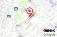 Схема проезда до компании Стройполиграф в Москве