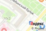 Схема проезда до компании Восточный дворик в Москве