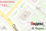 Схема проезда до компании Региональный отдел надзорной деятельности №1 в Котельниках