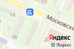 Схема проезда до компании MetalSof в Пушкино