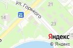 Схема проезда до компании Банкетный зал в Пушкино