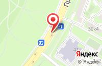 Схема проезда до компании Лм в Москве