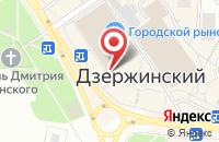 Схема проезда до компании Киоск фастфудной продукции в Дзержинском