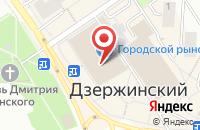 Схема проезда до компании Доктор Любви в Дзержинском