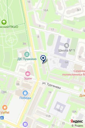 ТФ БАГАРТ на карте Химок
