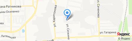 Старт на карте Донецка