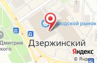 Схема проезда до компании Лит.Ra в Дзержинском
