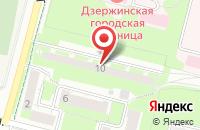 Схема проезда до компании Информация, Бизнес, Сервис в Дзержинском