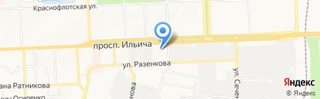 Все для мебели на карте Донецка