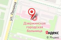 Схема проезда до компании Благост в Дзержинском