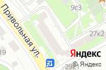 Схема проезда до компании Ивановский текстиль в Котельниках