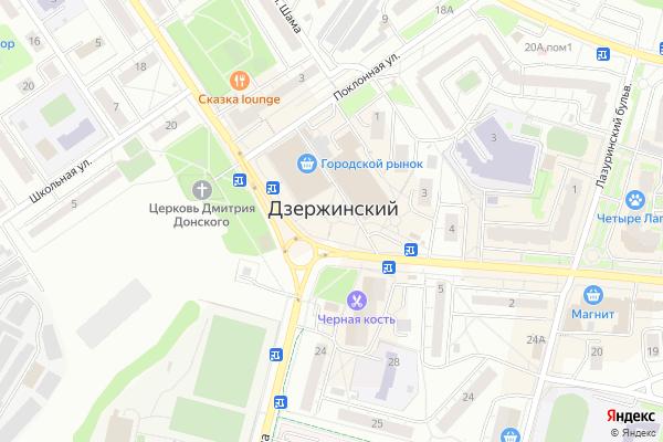 Ремонт телевизоров Город Дзержинский на яндекс карте