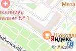 Схема проезда до компании Оптика в Жулебино в Москве