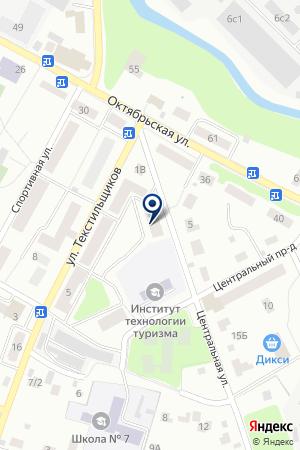 ПОНИ-КОНИ на карте Пушкино