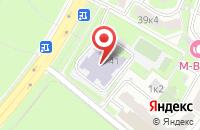 Схема проезда до компании МотоСтеклоПласт в Московском