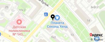 YULSUN на карте Москвы