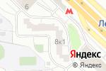 Схема проезда до компании MAKKEY Advertising в Москве