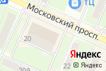 Схема проезда до компании МОНРО в Пушкино