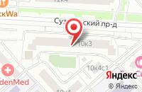 Схема проезда до компании Трикотажный Стиль в Москве
