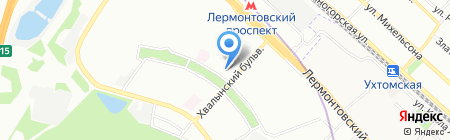 СТАЛ на карте Москвы