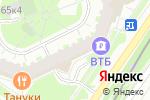 Схема проезда до компании СОС-АЙТИ в Москве