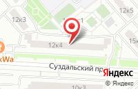 Схема проезда до компании Голденсити в Москве