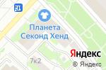 Схема проезда до компании Дети галактики в Москве