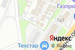 Схема проезда до компании АршинСтрой в Котельниках