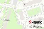 Схема проезда до компании Красное & Белое в Пушкино