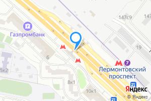 Сдается комната в трехкомнатной квартире в Москве Лермонтовский пр-т