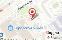 Схема проезда до компании ДАР в Дзержинском