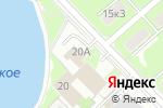 Схема проезда до компании Компания бизнес-услуг в Пушкино