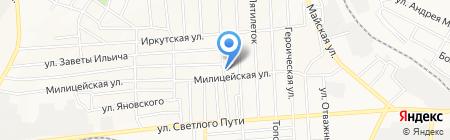 Производственная компания на карте Донецка