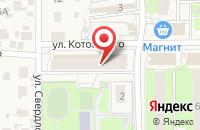 Схема проезда до компании Салон-парикмахерская в Правдинском