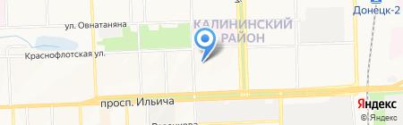 Itrend на карте Донецка