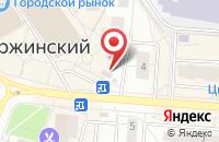 Схема проезда до компании Евросеть в Дзержинском