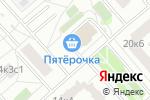 Схема проезда до компании Авто-комп в Москве