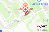 Схема проезда до компании Авмар-М в Москве