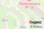 Схема проезда до компании Московский Бизнес в Москве